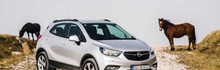 OPEL MOKKA X AND ZAFIRA IN JAHORINA