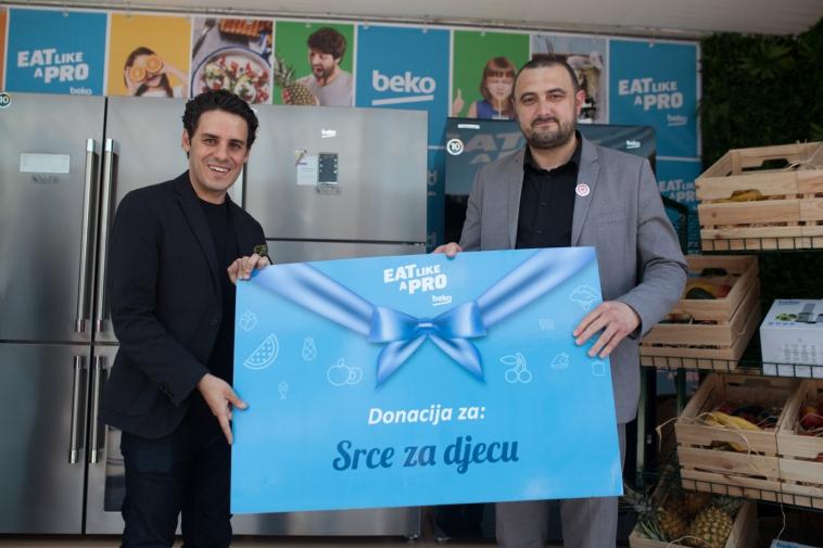 """Beko oprema Roditeljsku kuću Udruženja """"Srce za djecu"""""""